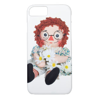 Rag Doll with daisy bouquet Case-Mate iPhone Case