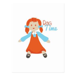 Rag Time Postcard