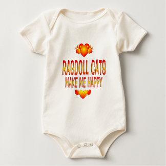 Ragdoll Cat Baby Bodysuit