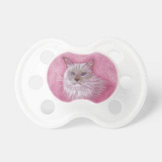Ragdoll Cat Dummy, Cute Pacifier