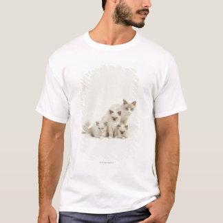 Ragdoll cat female with kittens T-Shirt
