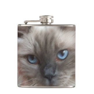 Ragdoll Cat Hip Flask