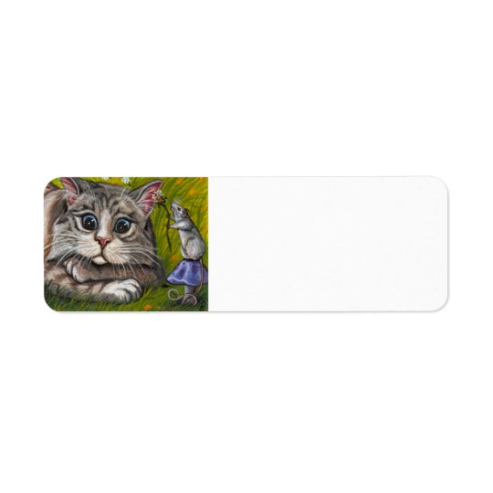 RAGDOLL CAT Mouse Avery Label