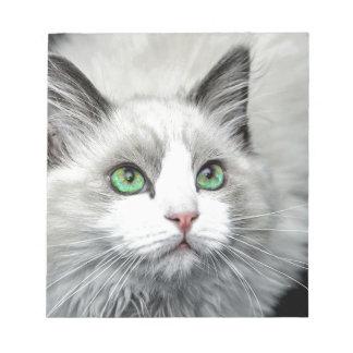 Ragdoll Cat. Notepad