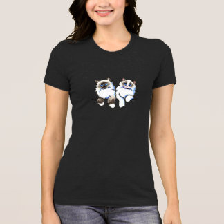 Ragdoll Cats Pair of Dolls Off-Leash Art™ T-Shirt