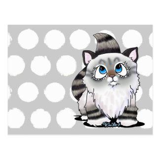 Ragdoll Cutie Face Kitten Postcard