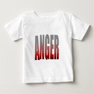 rage - anger baby T-Shirt