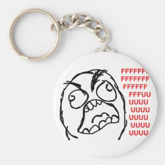 rage face rage comic meme lol rofl keychains