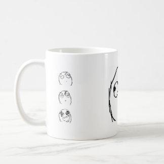 Rage Guy Smile Coffee Mug