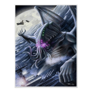Rage of Cthulhu Poster
