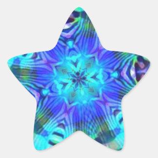 Rage Psychedelic Star Sticker