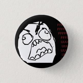 Rage Troll 1 Inch Round Button