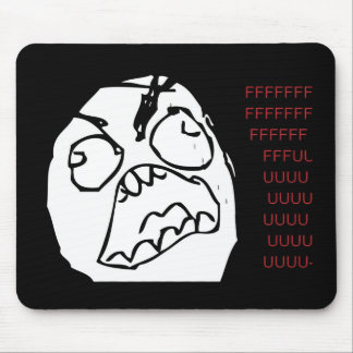 Rage Troll Mouse Pad