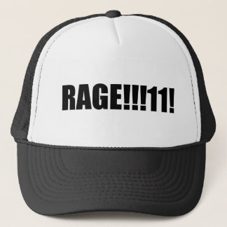 RAGE !!!!! TRUCKER HAT