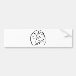Rageguy Bumper Stickers