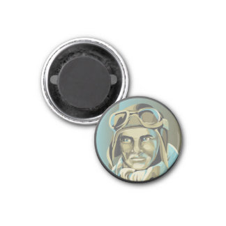 Ragged Aces Pilot Magnet