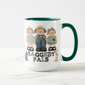 Raggedy Ann and Andy Pals Ringer Mug