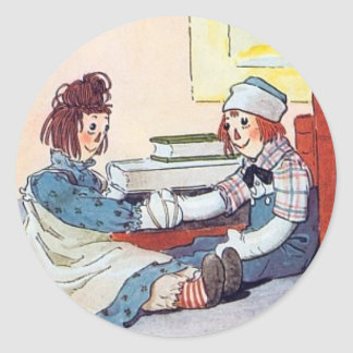 Raggedy Ann & Andy Sticker
