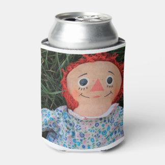 Raggedy Ann Doll 1 Can Cooler