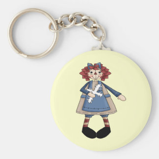 Raggedy January Keychain