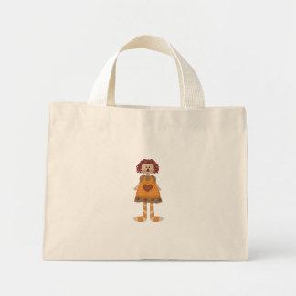 Raggedy Mini Tote Bag