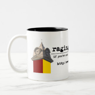 Raging Chicken Press Mug