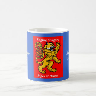 Raging Cougars Mug Red/Blue