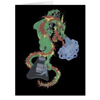 Raging Dragon's New Guitar Card