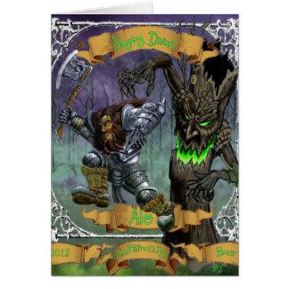 Raging Dwarf Ale Card