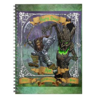 Raging Dwarf Ale Note Book