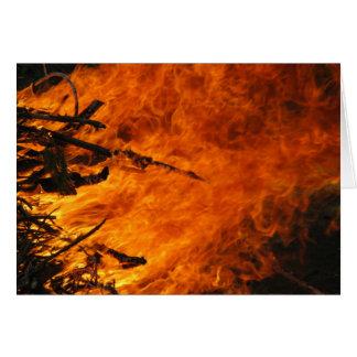 Raging Fire Card
