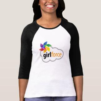 Raglan de Girlforce - disponible dans des styles T-shirt