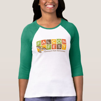 Raglan Falcon Fest T-Shirt