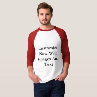 Raglan Shirts - 3/4 Sleeve Men