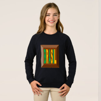 RAGLAN SWEAT SHIRT   BRASIL CHOCOLATE   CANDIES