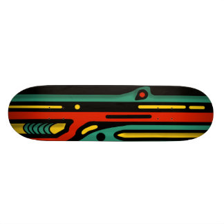 RAGNAROK 3 COLORFUL NORTHWEST by Slipperywindow Skateboard