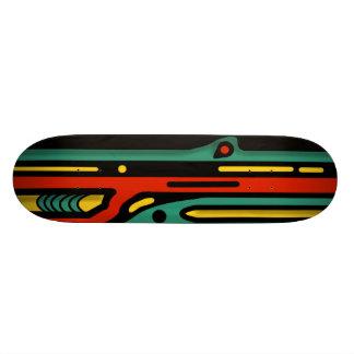 RAGNAROK 3 COLORFUL NORTHWEST by Slipperywindow Skateboard Deck
