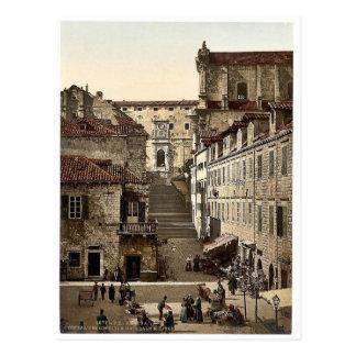 Ragusa, Jesuit Church and military hospital, Dalma Postcard