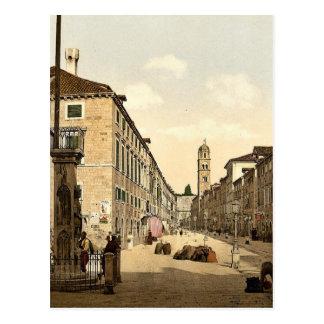 Ragusa the Franciscan Church Dalmatia Austro-Hu Post Card
