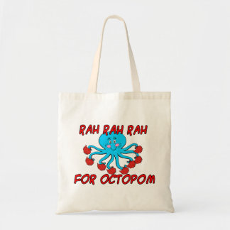 Rah Rah Rah For Octopom Tote Bag