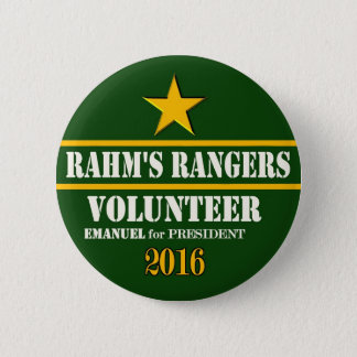Rahm Ranger's Volunteer 2 Inch Round Button