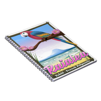 Raiatea Society Islands,Tahiti,French Polynesia. Notebooks
