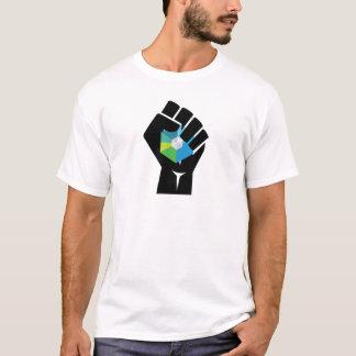 Raiblocks XRB Logo resist fist T-Shirt