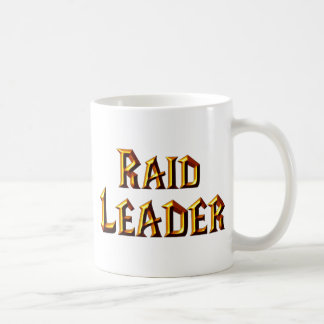 Raid Leader Coffee Mug