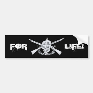 raiders, FOR, LIFE! Bumper Sticker
