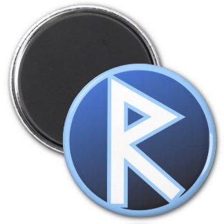 Raido Ride Rune Magnet