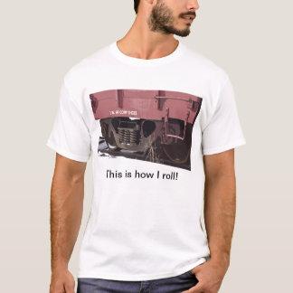 Rail Car Comp Shoes - T-Shirt