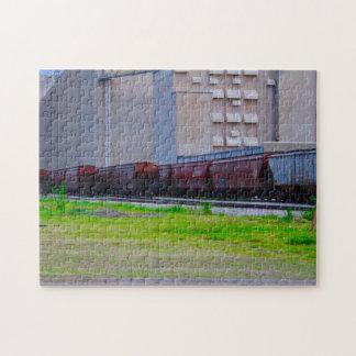 Rail Cars Puzzle
