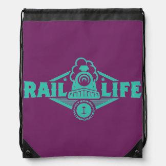 Rail Life™ Drawstring Backpacks