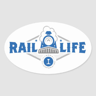 Rail Life ™ Sticker - Oval